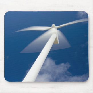 Norway, Sogn og Fjordane. Wind mill at Kråkenes. Mouse Pad