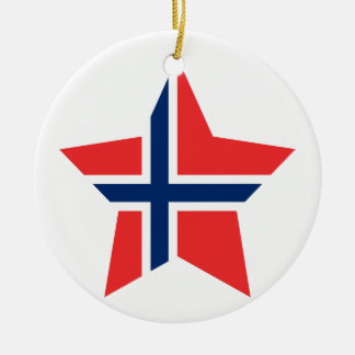 Norway Star Ornaments