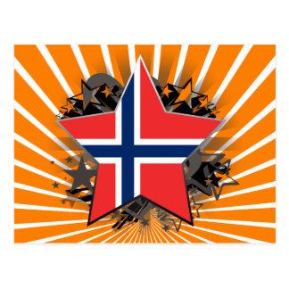 Norway Star Postcard