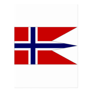 Norway State Flag Post Card