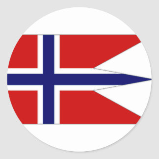 Norway State Flag Stickers