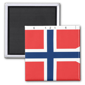 Norway State With Proportions, Norway Refrigerator Magnets