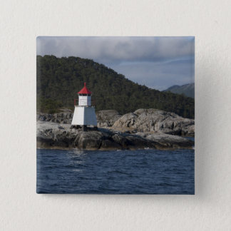 Norway, Stavanger. Views along Lysefjord. Button