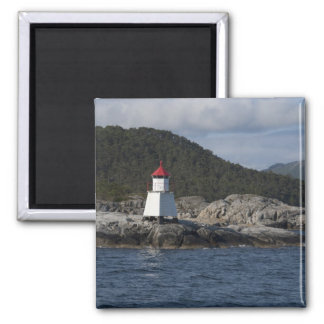 Norway, Stavanger. Views along Lysefjord. Magnet
