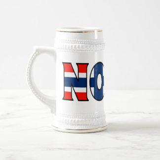 Norway Stein 18 Oz Beer Stein