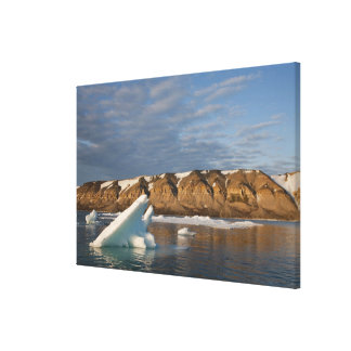Norway, Svalbard, Spitsbergen Island, Setting Gallery Wrapped Canvas
