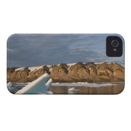 Norway, Svalbard, Spitsbergen Island, Setting Blackberry Bold Cover