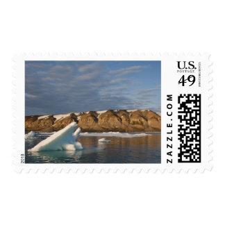 Norway, Svalbard, Spitsbergen Island, Setting Postage Stamp