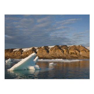 Norway, Svalbard, Spitsbergen Island, Setting Postcard