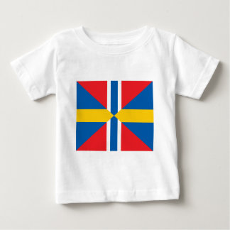 Norway Sweden Union Flag Baby T-Shirt