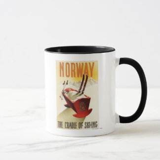Norway - The Cradle of Skiing Mug