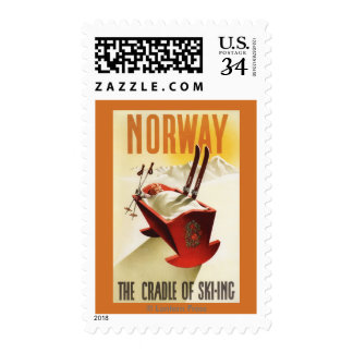 Norway - The Cradle of Skiing Postage