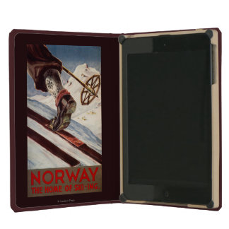 Norway - The Home of Skiing iPad Mini Cover
