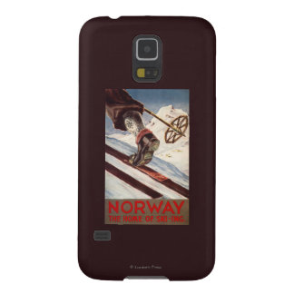 Norway - The Home of Skiing Case For Galaxy S5