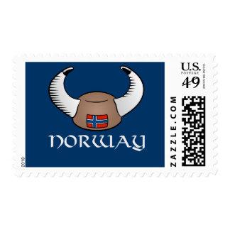 Norway Viking Hat Stamp