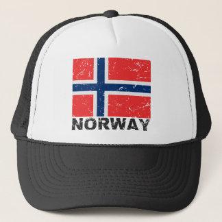 Norway Vintage Flag Trucker Hat