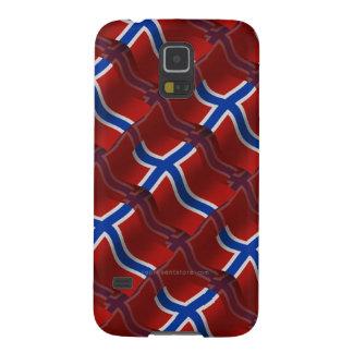 Norway Waving Flag Galaxy S5 Case