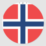 Norway With Proportions, Norway flag Stickers