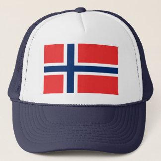 Norway World Flag Trucker Hat