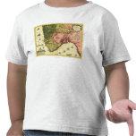 NorwayPanoramic MapNorway Camisetas
