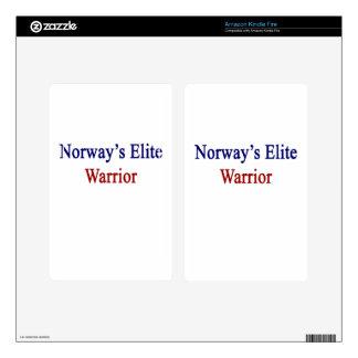 Norway's Elite Warrior Kindle Fire Decals