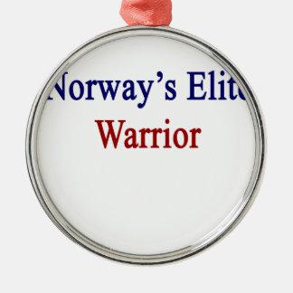 Norway's Elite Warrior Metal Ornament