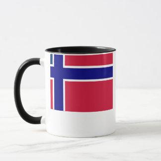Norwegian-American Flag Mug