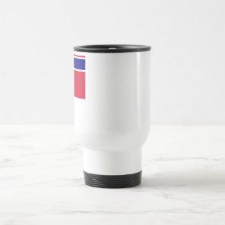 Norwegian-American Flag Travel Mug