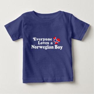 Norwegian Boy Baby T-Shirt