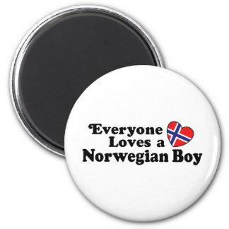 Norwegian Boy Magnet