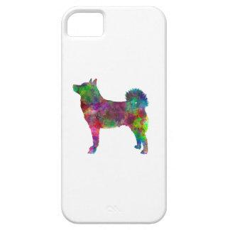 Norwegian Buhund in watercolor iPhone SE/5/5s Case