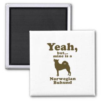 Norwegian Buhund Magnet