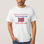 Norwegian Builds Character T Shirt