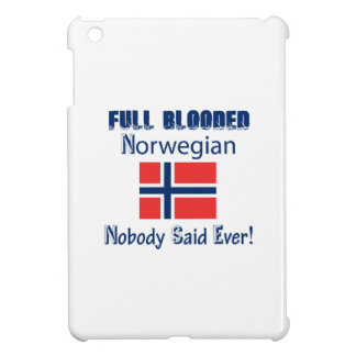 Norwegian  citizen design iPad mini cover
