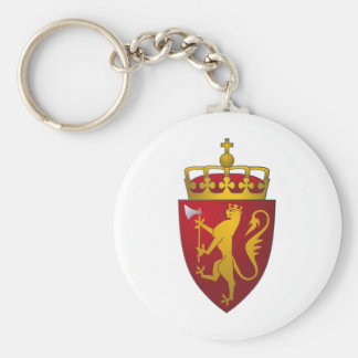 Norwegian Coat of Arms Keychain