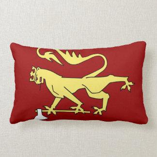 Norwegian Coat of Arms Lumbar Pillow