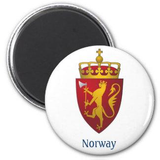 """Norwegian Coat of Arms"" Refrigerator Magnet"