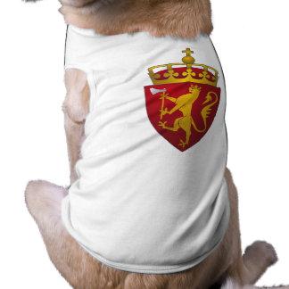 Norwegian Coat of Arms Scandinavian Heraldry Pet Clothing