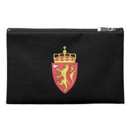 Norwegian coat of arms travel accessory bag