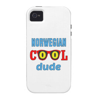 Norwegian Cool Dude Case-Mate iPhone 4 Covers