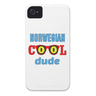 Norwegian Cool Dude iPhone 4 Covers