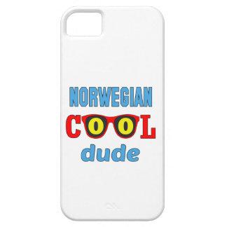 Norwegian Cool Dude iPhone 5 Cover