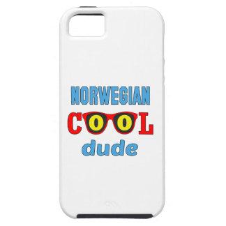 Norwegian Cool Dude iPhone 5 Cases