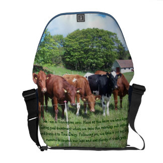 Norwegian cows Bag Courier Bag