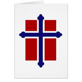 Norwegian Cross Flag Cards