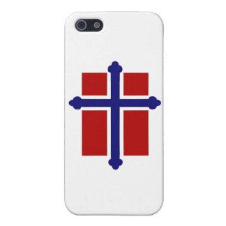 Norwegian Cross Flag iPhone SE/5/5s Cover
