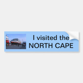 Norwegian cruise ship bumper sticker