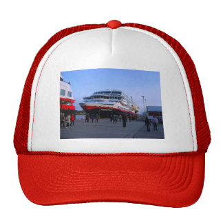 Norwegian cruise ship trucker hat