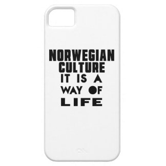 NORWEGIAN CULTURE IT IS A WAY OF LIFE iPhone 5 COVERS