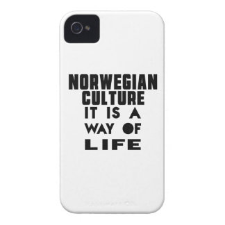 NORWEGIAN CULTURE IT IS A WAY OF LIFE iPhone 4 COVERS